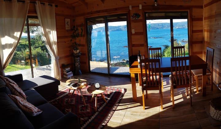 Casa rústica frente al mar comuna Corral