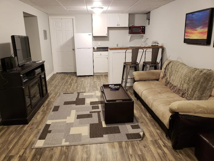 Newly remodeled basement suite close to everything