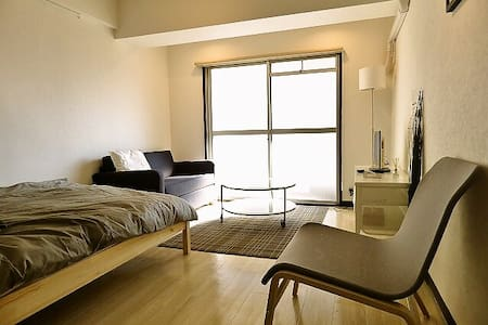 Sophisticated Room in Hakata Dwtn - 福岡市 - Apartment