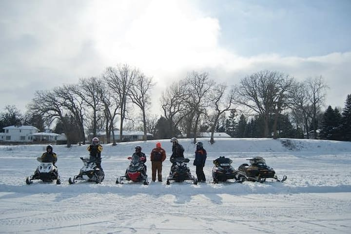 Bring your sleds and enjoy!!!!   (Rental sleds available)