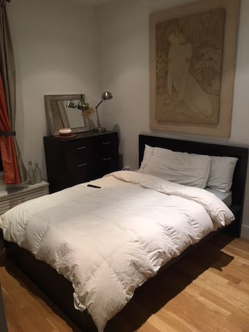 Great Room &Host, steps from #1 train