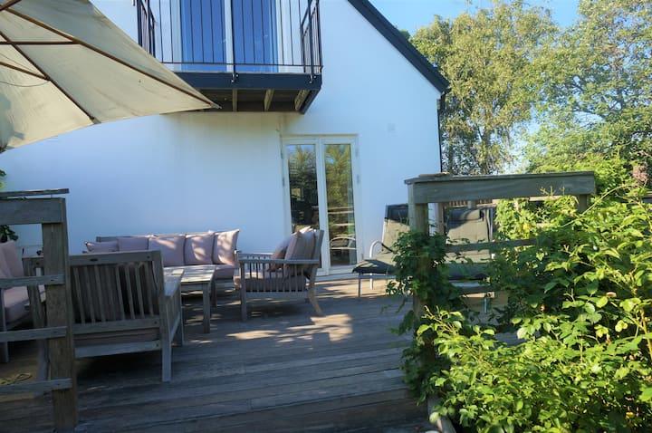 Mysig villa vid havet i Kåseberga