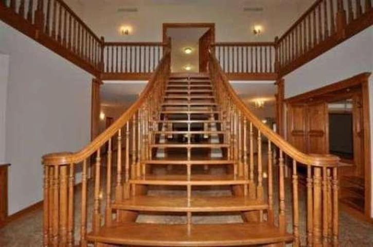 Stay at one of the largest homes in Macomb County