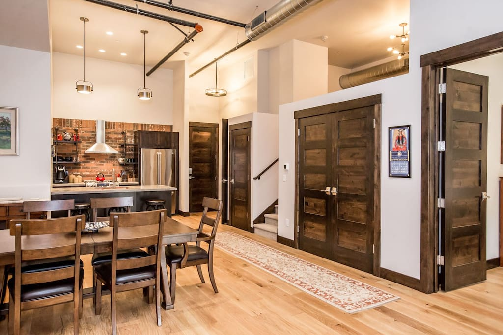 A rustic Montana buiding with an industrial twist