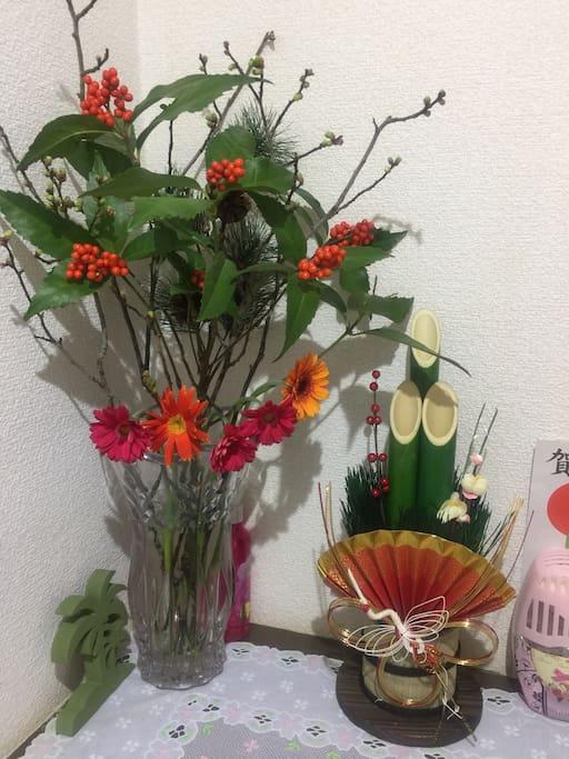 日本の正月飾り