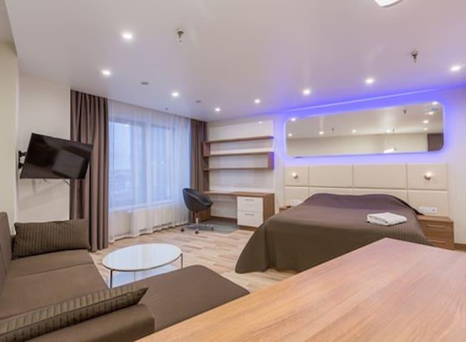 Милая квартира на Митино апар1210 - Moskva - Appartement