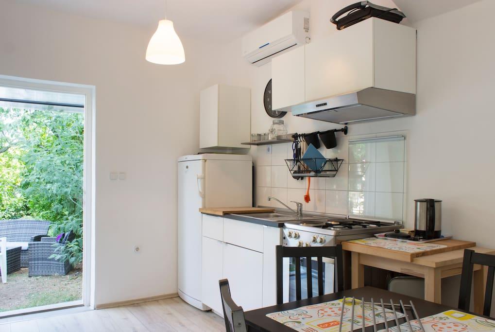 Kitchen Apartment Zora