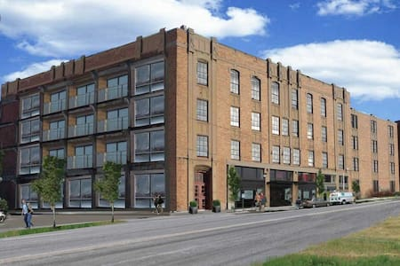 Industrial loft walking distance from downtown - Syracuse