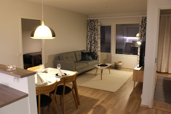 New apartment in the center of Rovaniemi 64,5m2