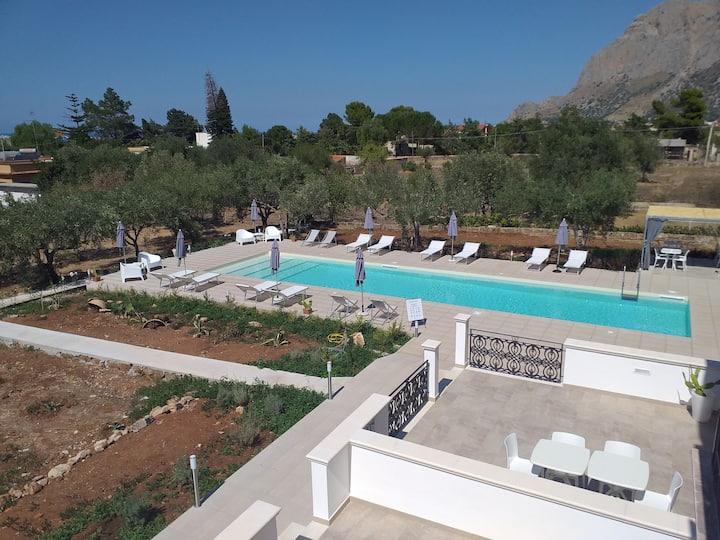 Inkantu, B&B con piscina a Terrasini
