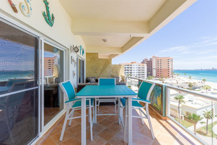 Palmas SB G-504, Beach Front Condo, One of the Best Views in Town!
