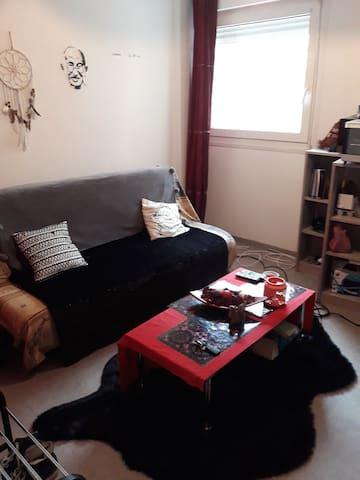 Studio 21 m2 au calme  quartier résidentiel
