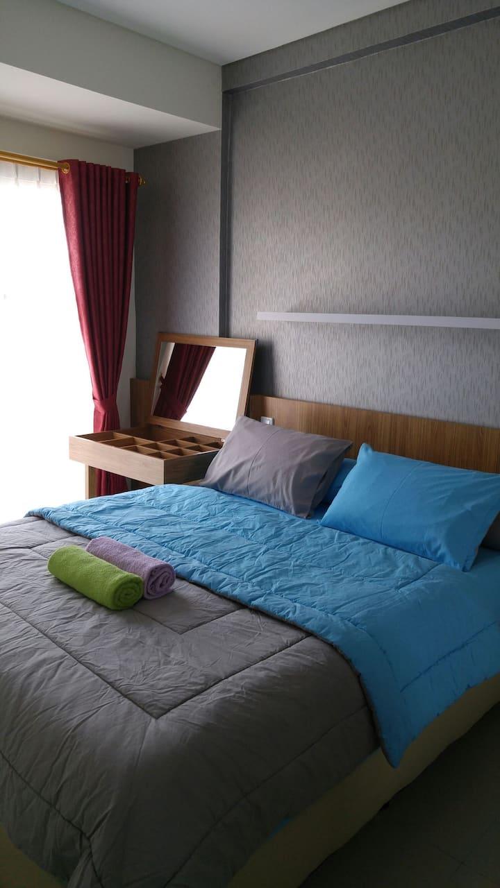 Homey 2 Bedroom Apartment in Strategic Area: Tara