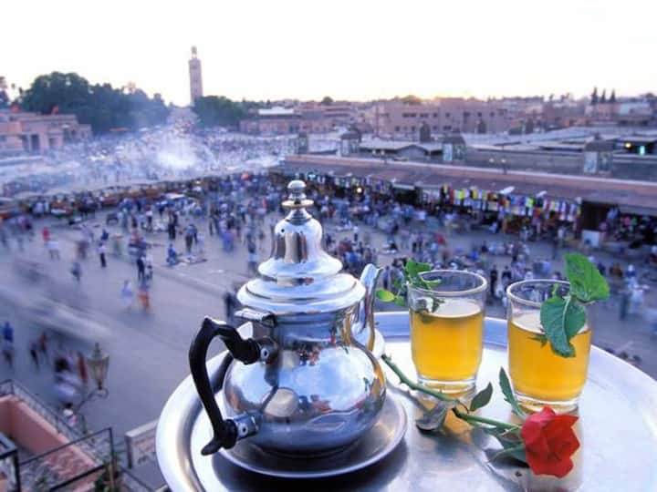 "DAR ASMA  In ""main square Jemaa el-Fnaa"""