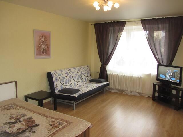 Комфортная квартира в новом доме на Крупской 4