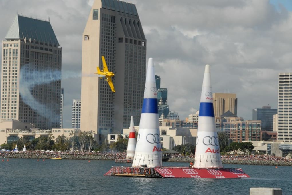 View the Red Bull Air Races from your own private yacht