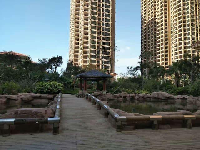银滩旁呼吸第一口海风的一海之家海边公寓 - Beihai - Appartement