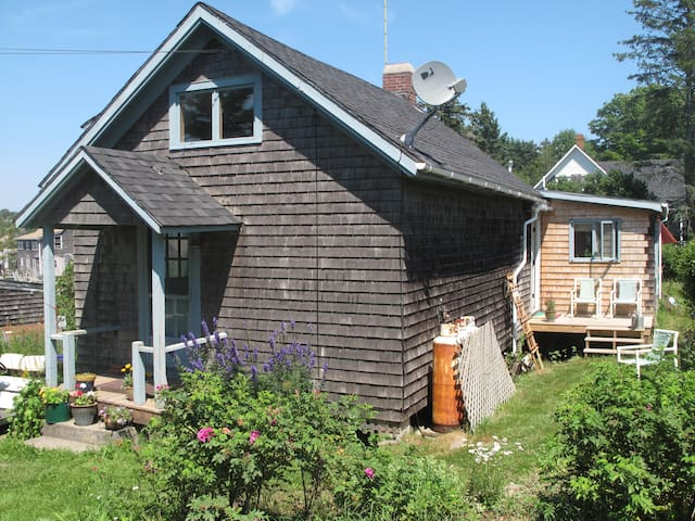 Shumaker Studio on Monhegan Island, Maine.