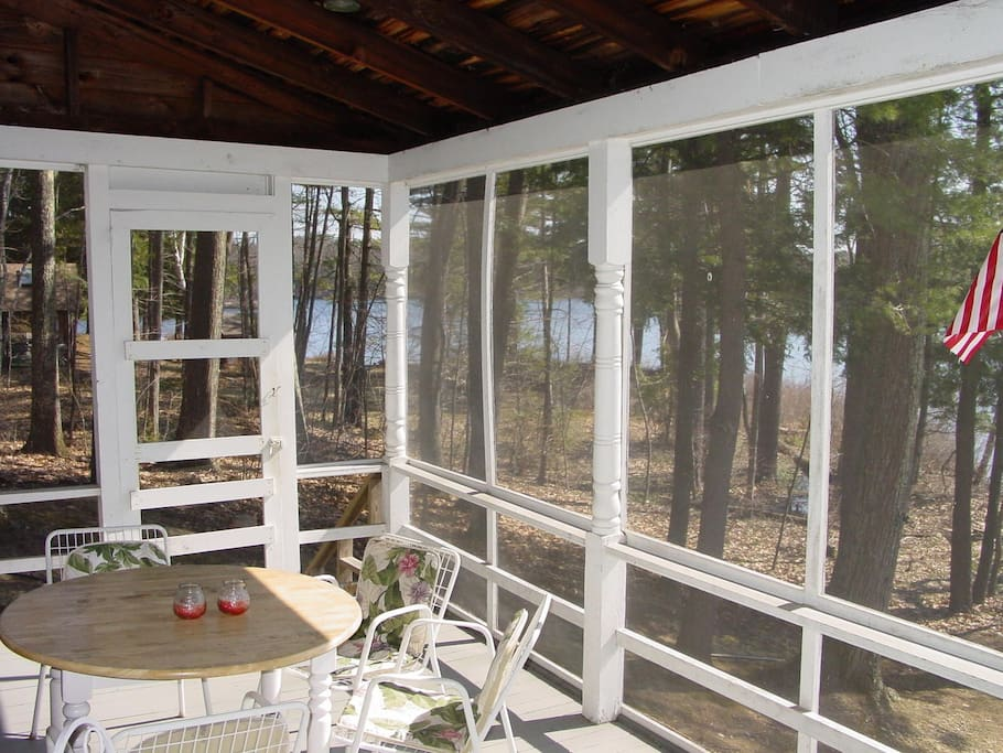 part of screened porch