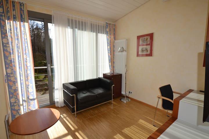 Hotel Weinhaus Steppe, (Waldbronn), Doppelzimmer Comfort mit Dusche und WC