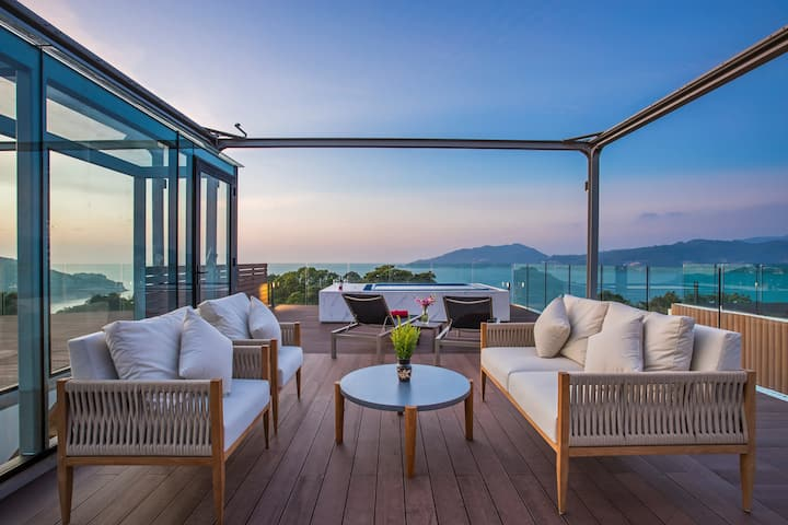 Ultra Lux 3Broom Condo, Stunning Views Patong Bay