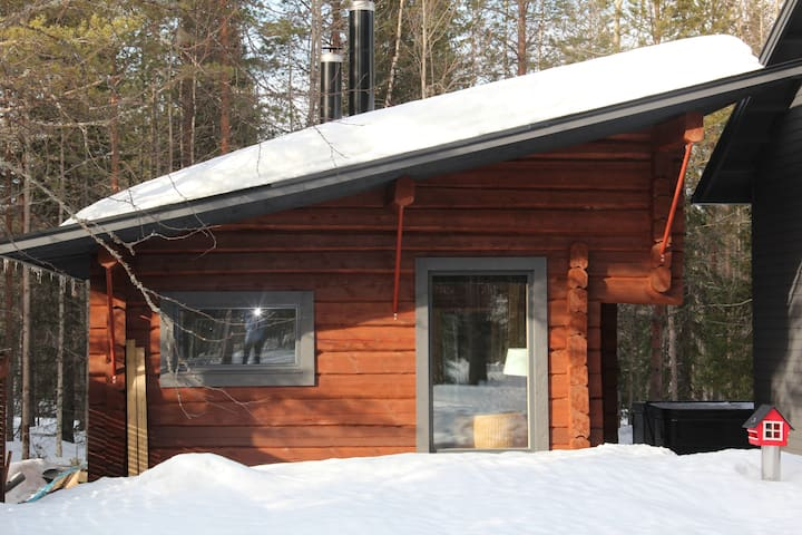 Syöte Cottage with Jacuzzi (free Wi-Fi)