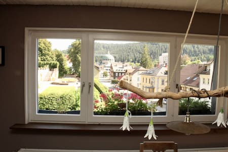 Cozy 4-room apartment with a view in St.Blasien