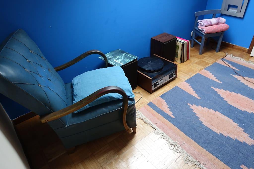 Le petit salon sur la mezzanine