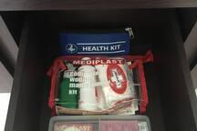 first aid kit and basic medicines also available!