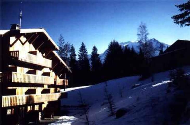 Residence  au Pieds des pistes  face au Mt Blanc