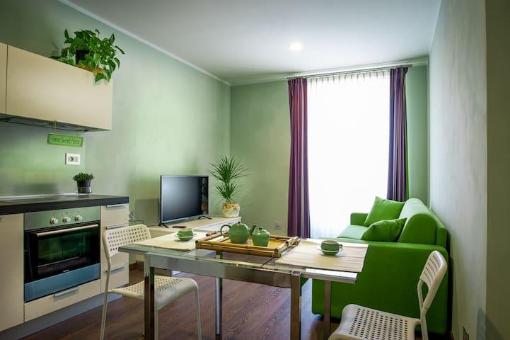 Arc en Ciel, Appartamento Verde - Cocconato - Apartemen
