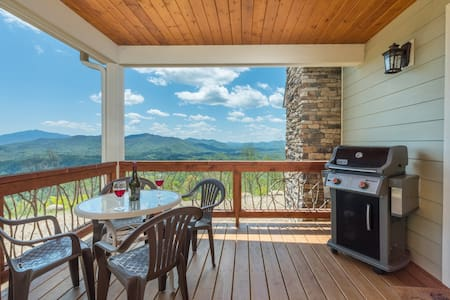 Breathtaking MTN Views, Private, fire-pit!!