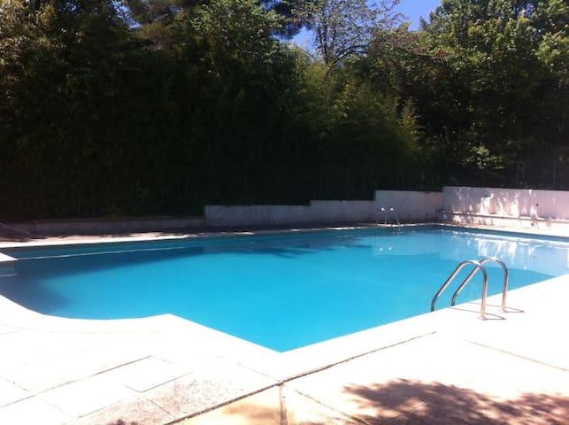 Studio de vacance avec piscine proche de la mer - Toulon - Appartement en résidence