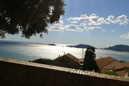 Nice small cosy apartment with sea view - 莱里奇 - 公寓