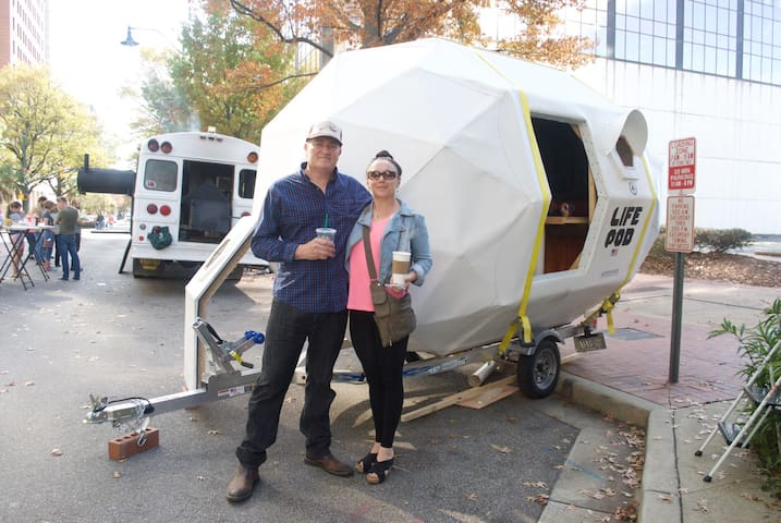 LIFE POD  camper (new and unusual) - West Columbia