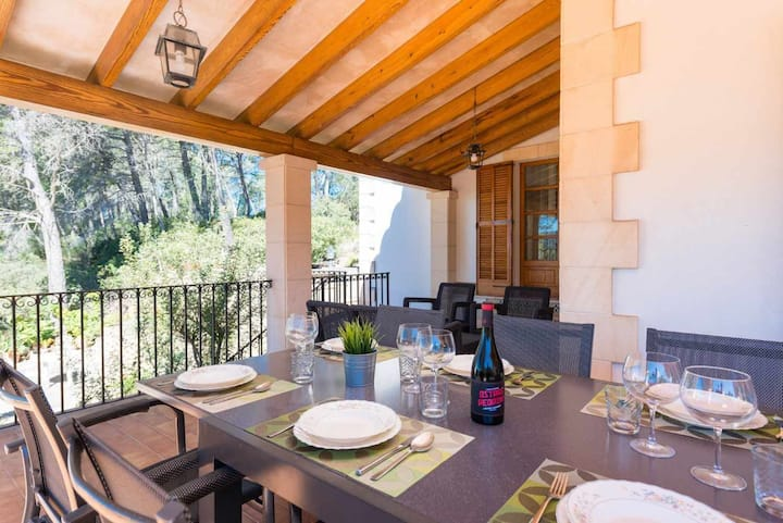 YourHouse Can Pere Vell - finca with pool in the Tramuntana mountains