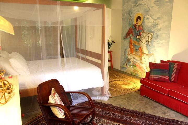 Estalagem Camburi | Deluxe Suite, wooden bath, a/c