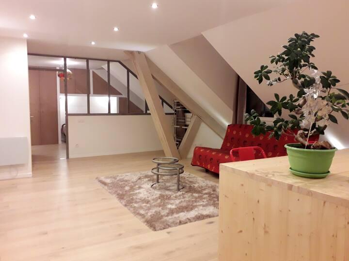 Superbe appartement  neuf T3 de 60 m2 tout équipé.