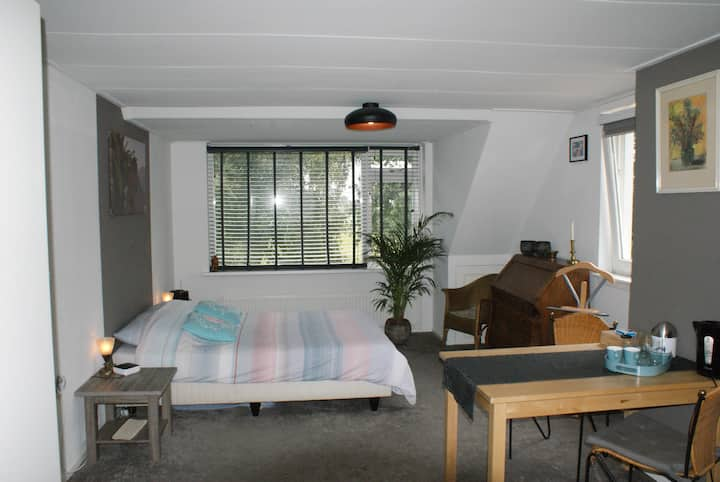 Zeer ruime zit/slaapkamer dichtbij Alkmaar