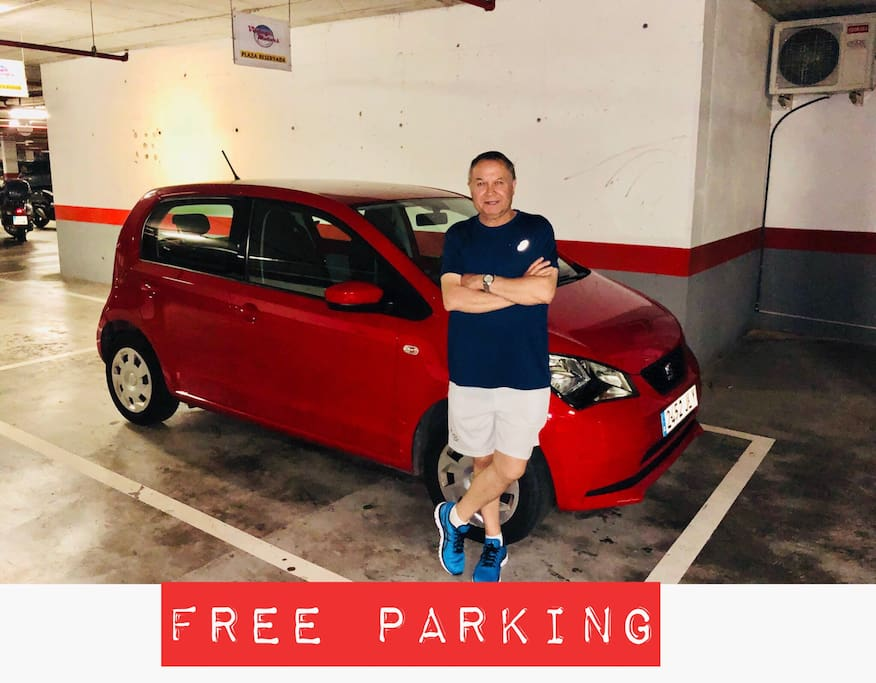free parking 24 hours