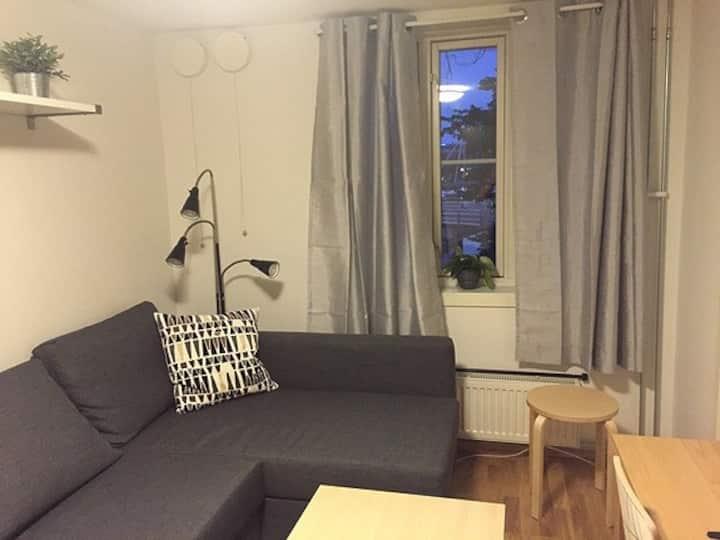 Sentralt beliggende studio i Trondheim.