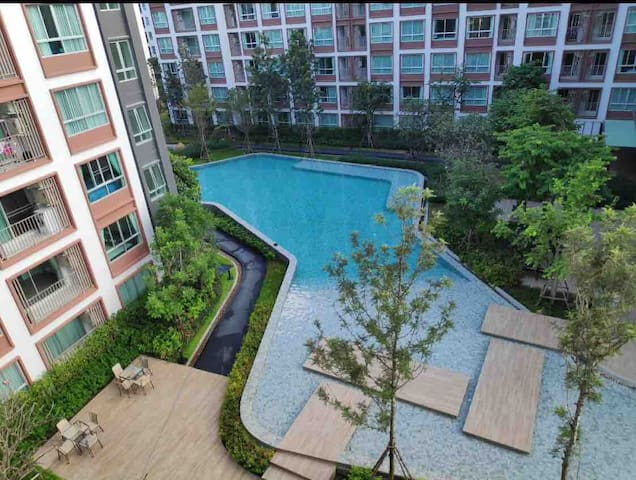 D Ping relaxing stay 1BR38sq.m 2min Central Mall
