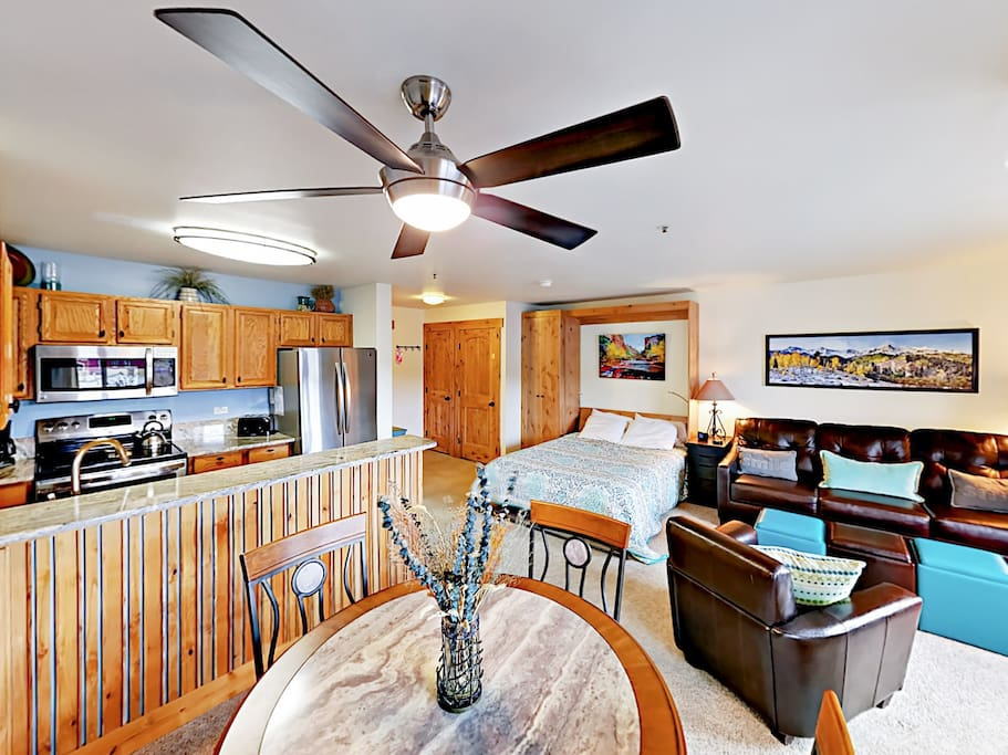 Welcome to your slope-side condo! Professionally managed by TurnKey Vacation Rentals.