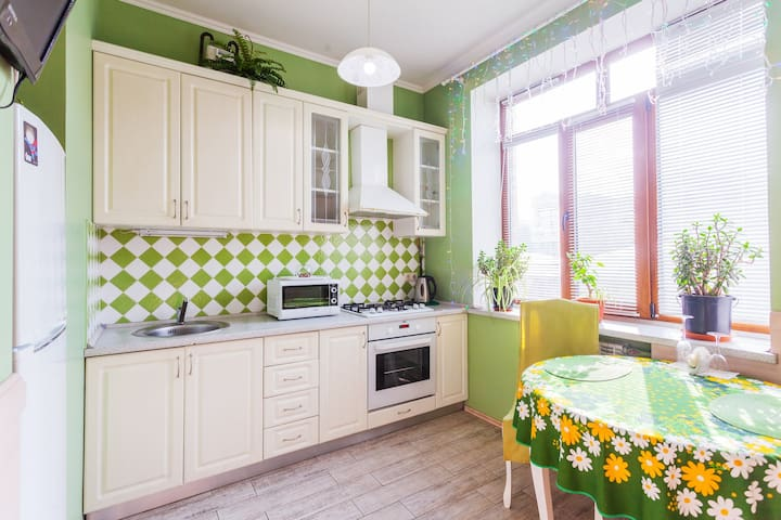 Nase apartment in Podil, Kyiv. Ukrane.
