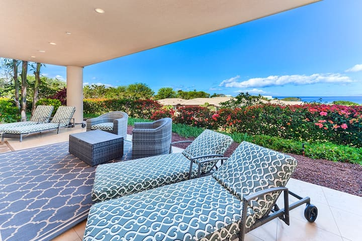 Ho'Olei at Grand Wailea - Deluxe Ocean Three Bedroom