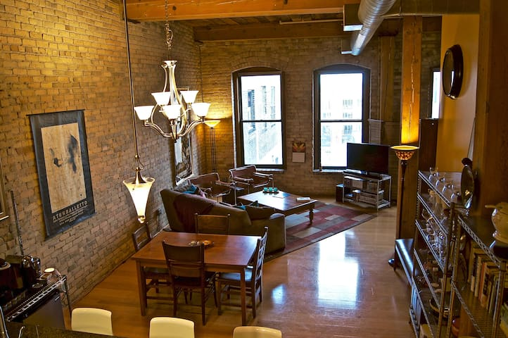 Authentic loft in Minneapolis' North Loop - Minneapolis - Loft