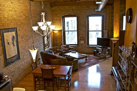 Authentic Minneapolis North Loop Loft