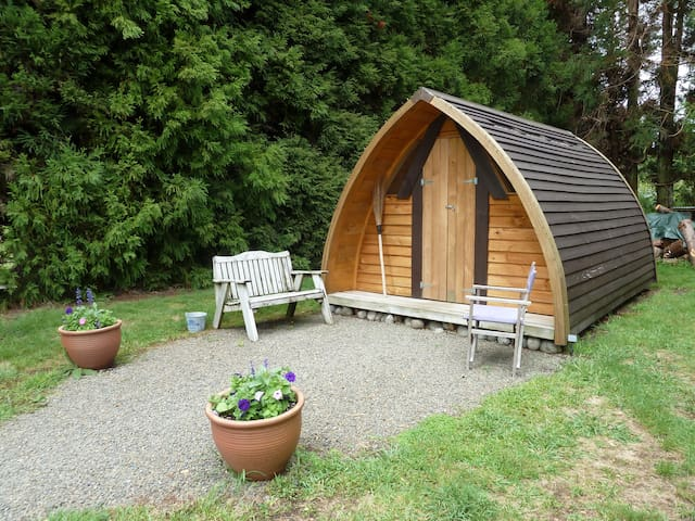 ★The Ark unique & cosy in secluded parklike garden - Katikati - Cabin