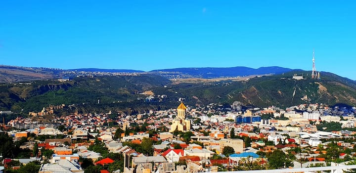 Upstairs Hotel Tbilisi - Amazing View!!