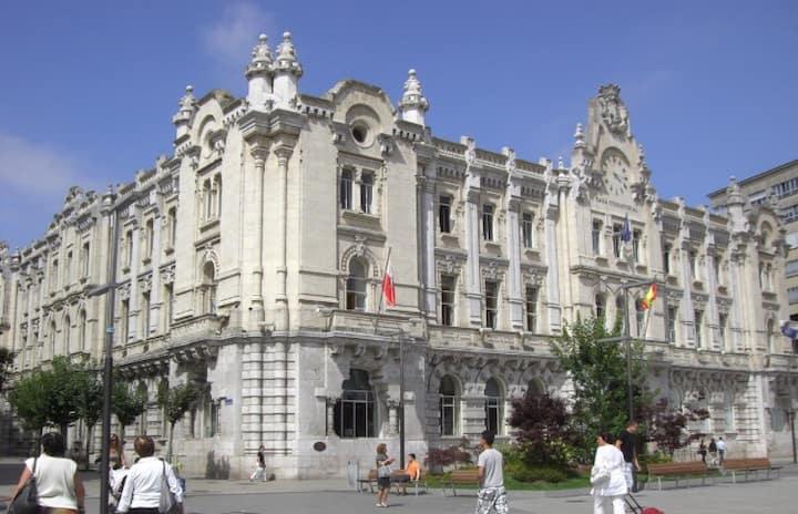 Piso céntrico en Santander